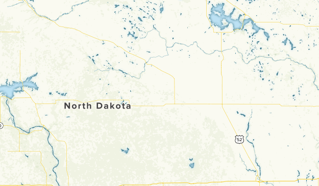 North Dakota Local Parks Map