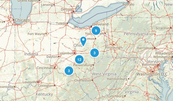 Ohio Cave Map