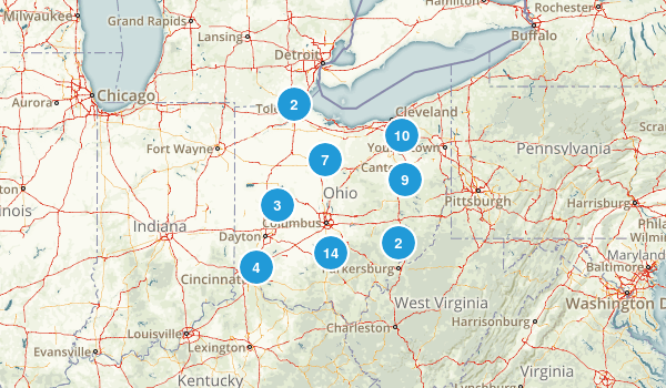 Ohio Dog Friendly Map