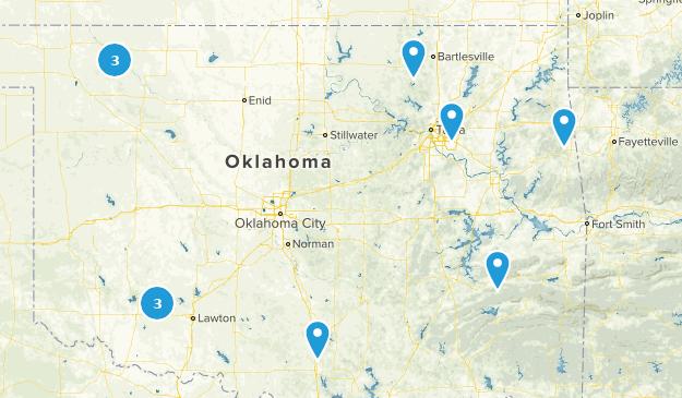 Oklahoma Cave Map