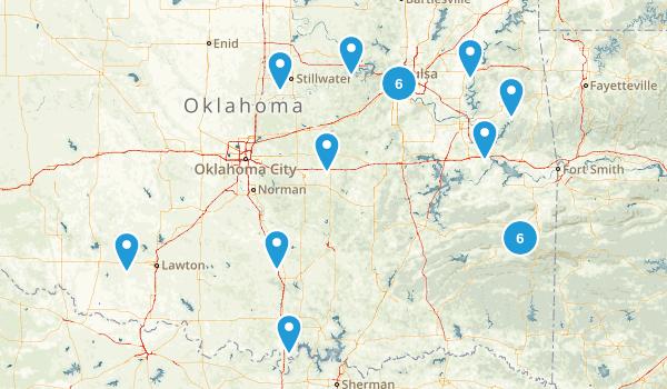 Oklahoma Dog Friendly Map