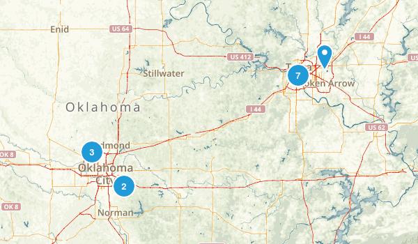 Oklahoma Local Parks Map