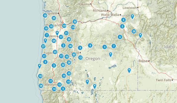Oregon Forest Map