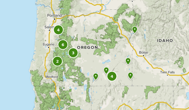 hot springs in oregon map Best Hot Springs Trails In Oregon Alltrails hot springs in oregon map