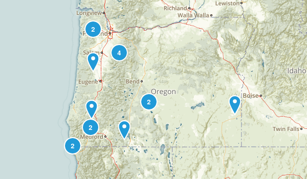 Oregon Ipl Stately Knowledge Facts About The United States - Oregon on the us map
