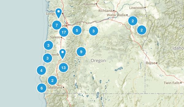 Oregon Paddle Sports Map
