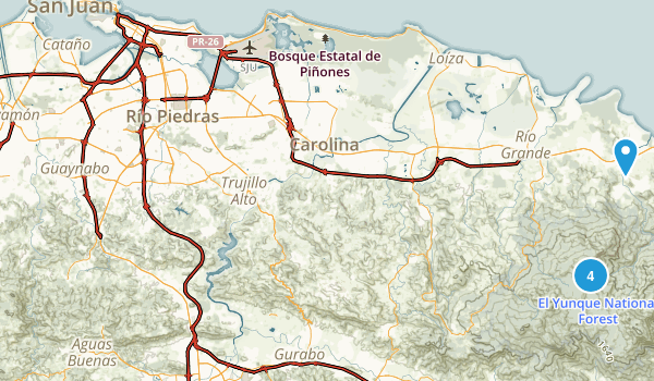Puerto Rico Dog Friendly Map