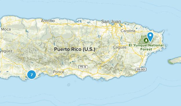 Puerto Rico Kid Friendly Map