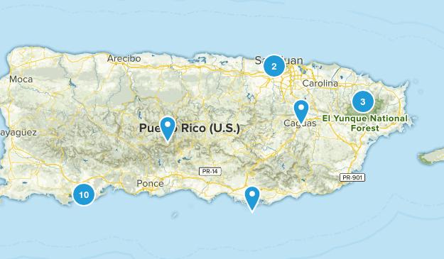 Puerto Rico Views Map