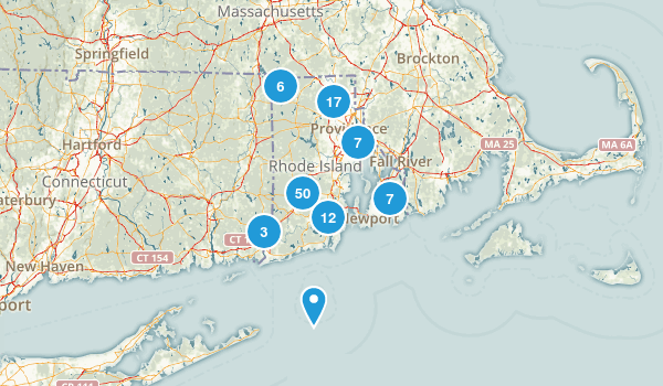 Rhode Island Forest Map