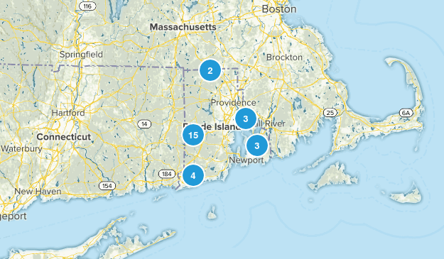 Rhode Island Local Parks Map