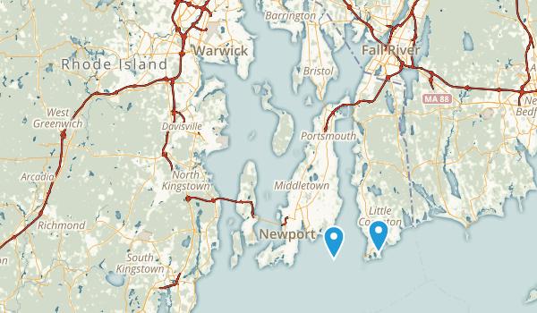 Rhode Island National Parks Map