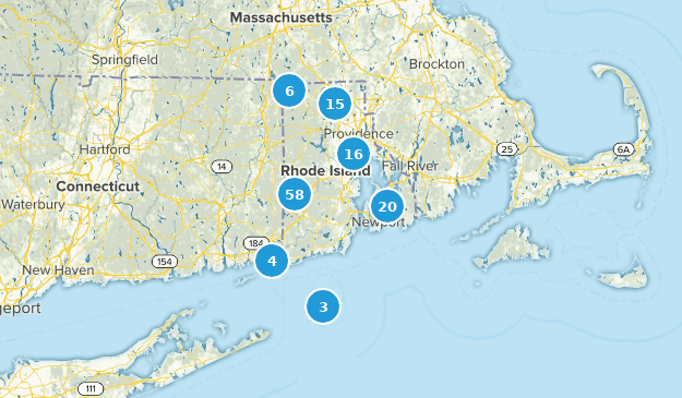 Rhode Island Nature Trips Map