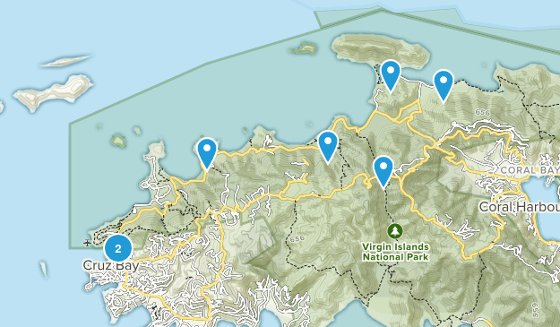 Saint John Views Map