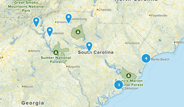 Best City Walk Trails In South Carolina