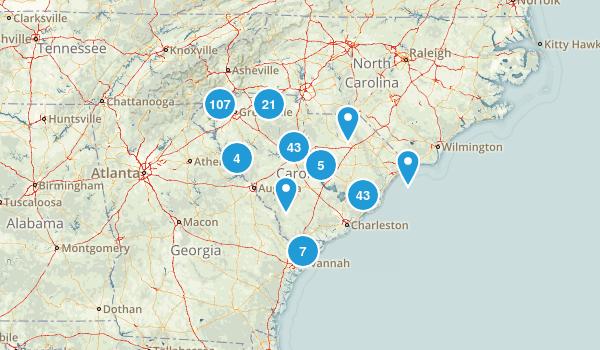 South Carolina Views Map