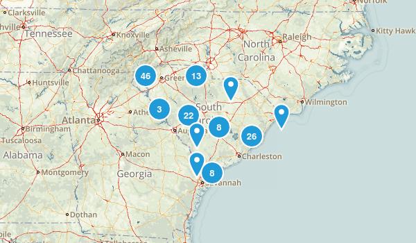 South Carolina Wildlife Map