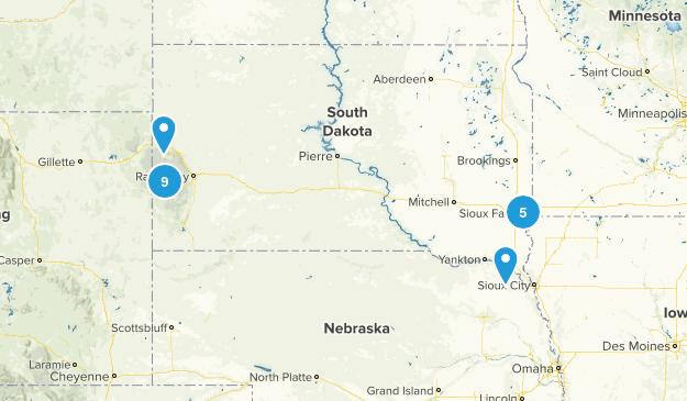 South Dakota Dog Friendly Map