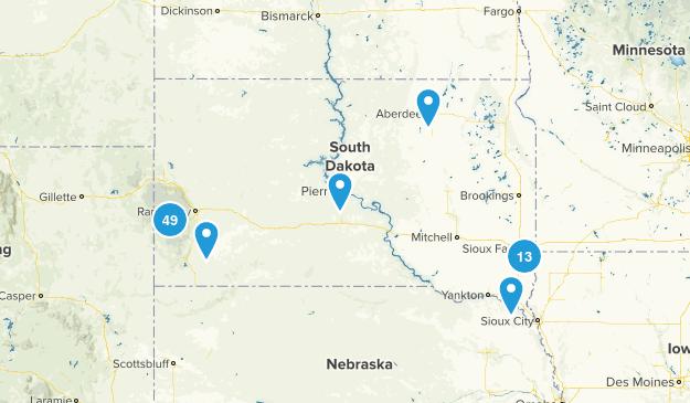 South Dakota Forest Map