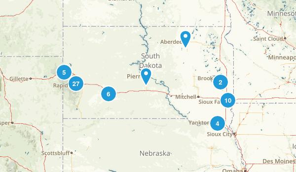 South Dakota Kid Friendly Map