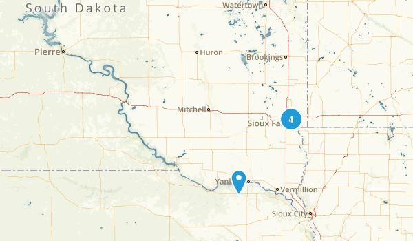 South Dakota Local Parks Map