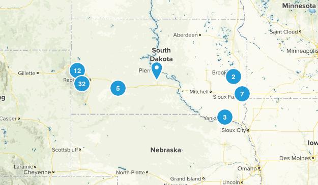 South Dakota Nature Trips Map