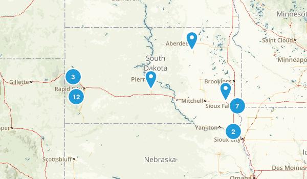 South Dakota State Parks Map