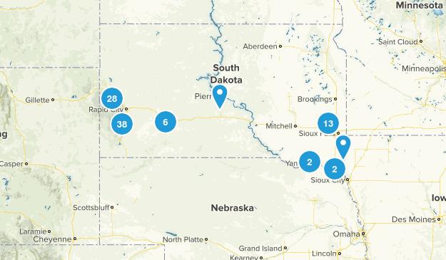South Dakota Views Map