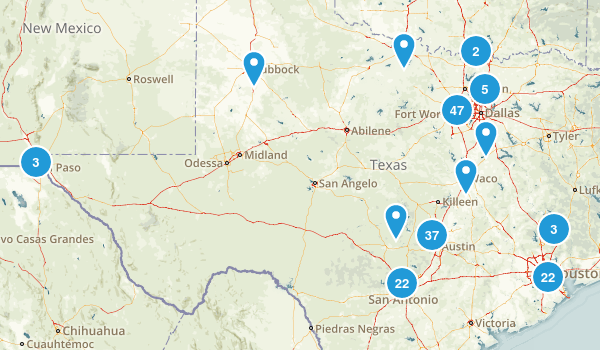 Texas Local Parks Map