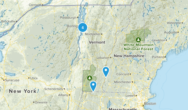 Vermont Wheelchair Friendly Map
