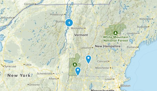 Vermont Wheelchair Friendly Map