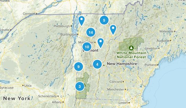 Vermont Dog Friendly Map