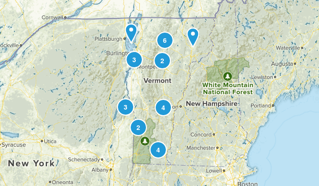 Vermont No Dogs Map
