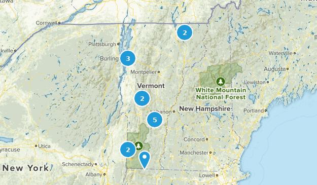 Vermont Fishing Map