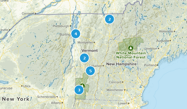 Vermont Fishing Map