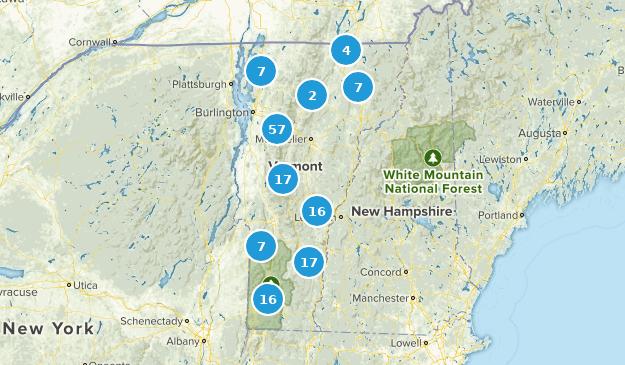 Vermont Kid Friendly Map