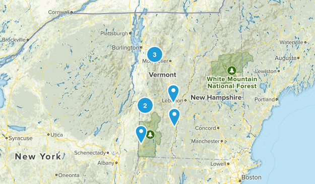 Vermont Local Parks Map