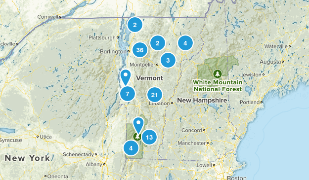 Vermont State Parks Map