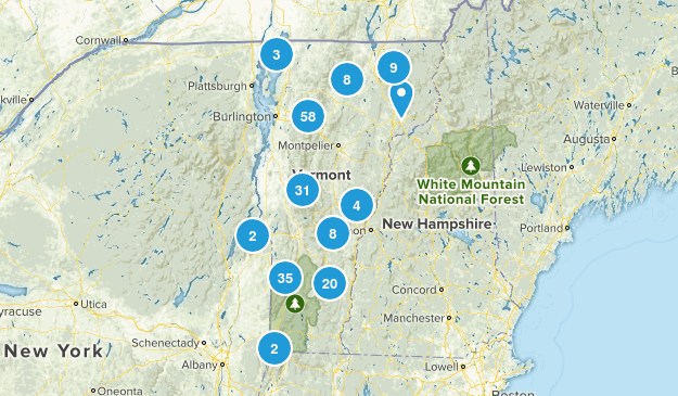 Vermont Wildlife Map