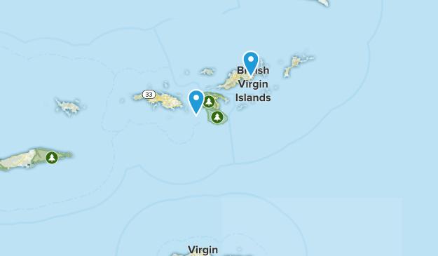 Virgin Islands Parks Map