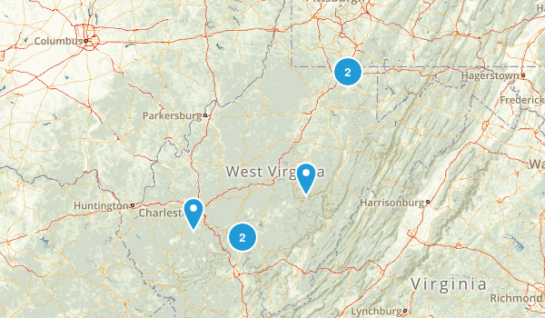 West Virginia Cave Map