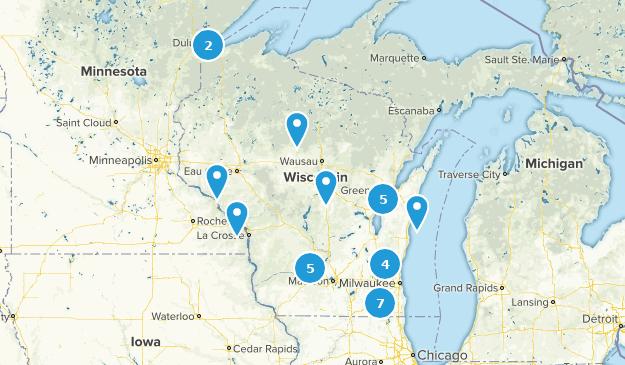Wisconsin Wheelchair Friendly Map