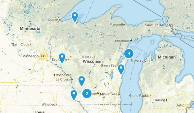 Wisconsin Cave Map