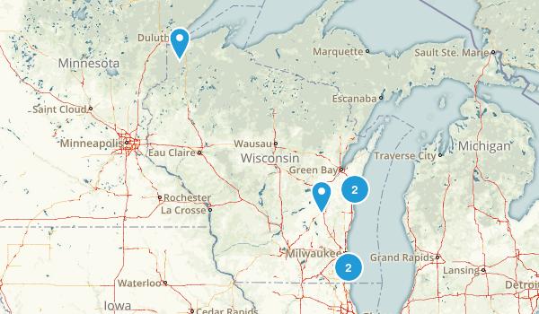 Wisconsin City Walk Map