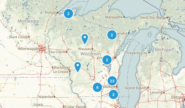 Wisconsin Dog Friendly Map
