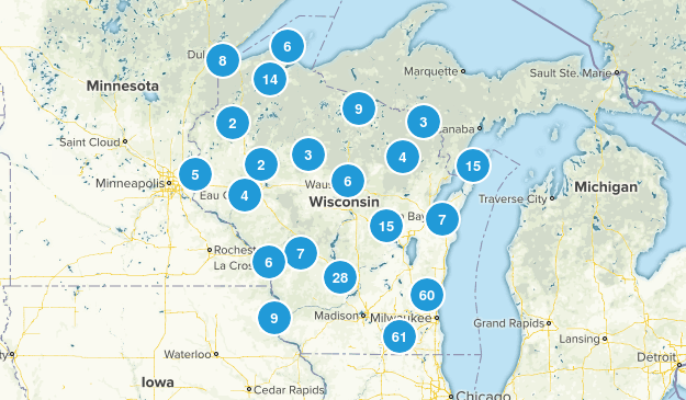 Wisconsin Forest Map