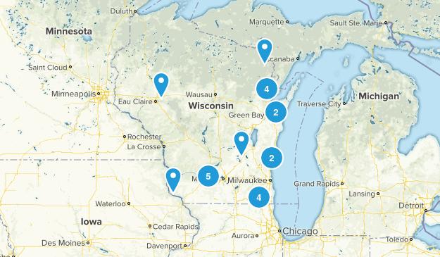 Wisconsin Horseback Riding Map
