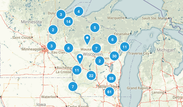 Wisconsin Kid Friendly Map