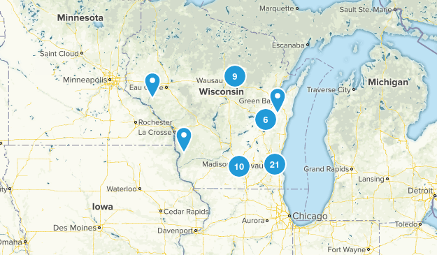 Wisconsin Local Parks Map