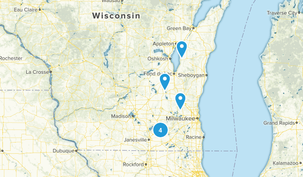 Wisconsin Scenic Driving Map